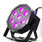 MG CP715 HCL 7 x 15W 6in1 LED flat par with RGBWA+UV color mixing