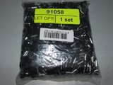 Terminal 6 mm2, 12 mm Black (1000 pieces)_