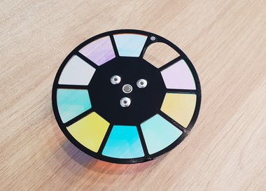 Indigo 150 color wheel incl. motor