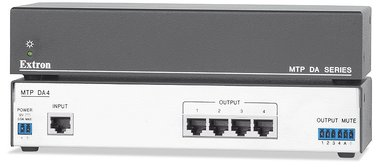 Extron MTP DA4 Four Output MTP Twisted Pair Distribution Amplifier