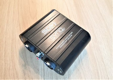 Synq SDI-1 Stereo DI-box ground loop isolator