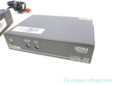 Extron CVEQ 100 Composite Video and Audio Line Driver with Gain and Equalization